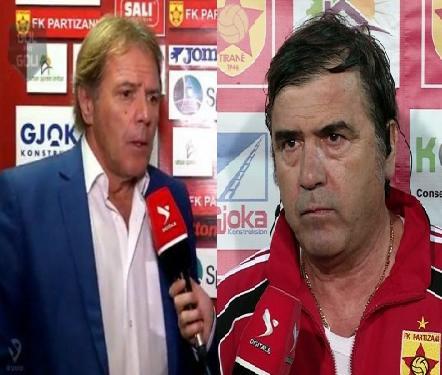 Skënderbeu – Partizani/ Çfarë thanë pas ndeshjes Agostineli dhe Starova