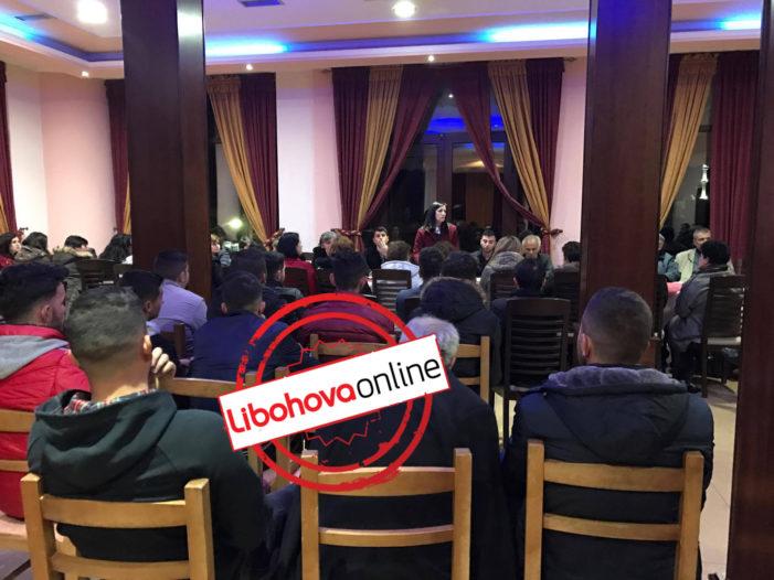 Mirela Kumbaro takim me strukturat e PS në Libohovë: Mbështetje me të tjera investime (FOTO)