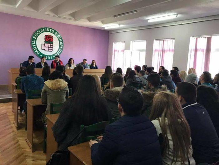 Gjirokastër, Sekretariati i Rinisë së PS-së takim me profesionistët e rinj (FOTO)