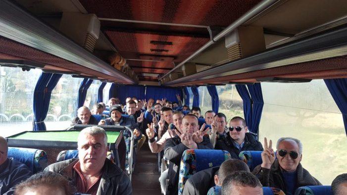 Protesa e opozitës, Gjirokastra nis 500 vetë drejt Tiranës