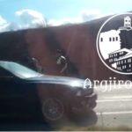 Përplasen tre automjete, pamje nga aksidenti tragjik në Jorgucat (VIDEO)