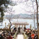 Ky çift e ka kaluar Shën Valentinin nga Liqeni, duke u martuar