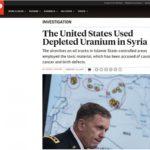 FOTO/ Nobelisti i Paqes urdhëroi përdorimin e uranit të varfëruar në Siri