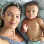 Candice poston foto me djalin 4 muajsh