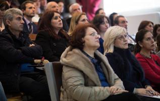 Ministrja Nikolla merr pjesë në analizën arsimore ne Gjirokastër