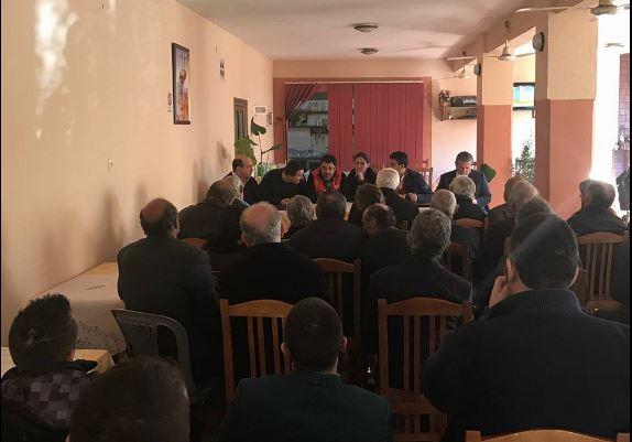PS Gjirokastër takime në Odrie, të pranishëm ministrat Kumbaro e Çuçi (FOTO)