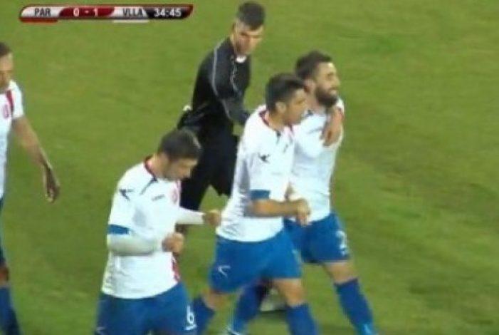 Tifozët e Partizanit shajnë Elis Bakajn, ky i fundit i përgjigjet me gol