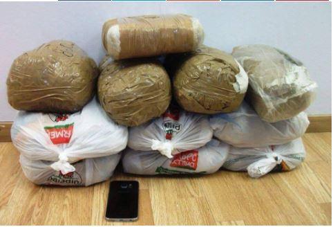 Kapet 101 kg kanabis në Janinë, pranga 26-vjeçarit shqiptar