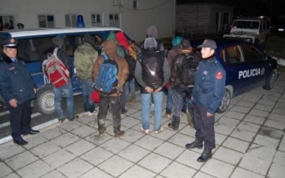 Sirianët e kapur në Shqipëri tregojnë pagesat për trafikantët