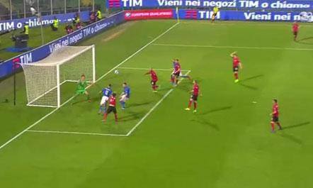 Dështon surpriza, Italia na mposht 2-0