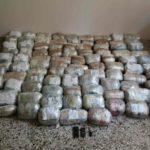 Greqi – Trafikuan 98 kg kanabis, arrestohen dy shqiptarë, në kërkim një tjetër