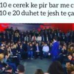 VIDEO që po çmend rrjetin, i riu i pirë tapë flet para Bashës në çadër