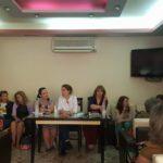Mirela Kumbaro takim me gratë në Përmet: Vetëm PS i ka dhënë përfaqësim më të madh femrave (FOTO)
