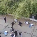 Grushta dhe shkelma, sherr masiv mes militantëve të PS-së dhe LSI-së (VIDEO)