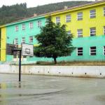 FOTO LAJM/ Shihni çfarë ka pikturuar Tërmet Peçi në gjimnazin e Tepelenës