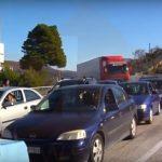 Kthimi i emigrantëve, 5 Km radha e automjeteve në Kakavijë (VIDEO)