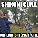 'Shikoni çuna, rrezikon edhe shtëpia e Artemisës'. Memet e javës nga Gjirokastra (FOTO)