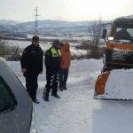 Situata nga reshjet e borës, ja akset rrugore problematike
