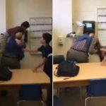 Mësuesi përplas për tokë nxënësin, por harron që nxënësit e tjerë po e filmojnë (VIDEO)