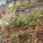 Tjetër rrëshqitje e tokës në Gjirokastër, shihni çfarë ndodh te 'Pazari i Vjetër' (VIDEO)