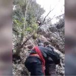 Policia e Gjirokastrës publikon pamje të tjera nga operacioni për shpëtimin e alpinistëve (VIDEO)