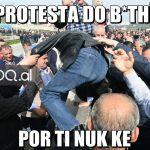 Protesta do b*thë, Lulzim!, plas humori në rrjet (FOTO)