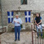 Në Bularat çohet flamuri i 'Vorio Epirit'. I pranishëm edhe kryetari i Bashkisë Dropull (VIDEO)