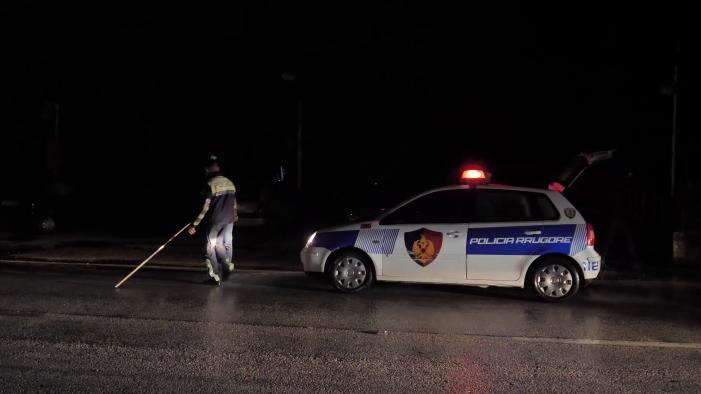 Aksident në Sarandë, dy të plagosur nga përplasja mes 'Benzit' me 'Volswagenit'