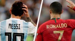 Humor i zi në rrjet, shihni si tallen me Messin dhe Ronaldon (FOTO)