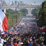 500 mijë vetë në shesh, shihni si priten kampionët e botës në Paris (FOTO)