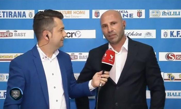 Trajneri nga Gjirokastra e nis me fitore, Kamza mposht Tiranën