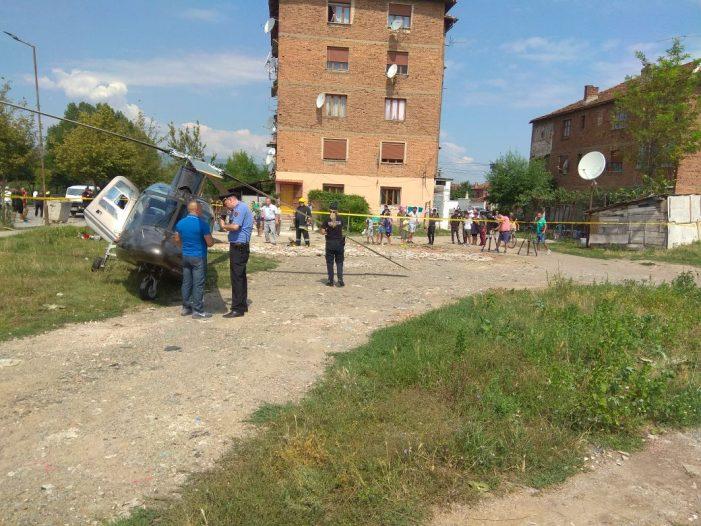 Ndodh në Shqipëri/ Shkojnë të marrin nusen, por u rrëzohet helikopteri (FOTO)