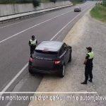 Kujdes nga gjobat, policia shqiptare nis monitorimin me dron. Shihni çfarë i ka ndodhur këtij shoferi (VIDEO)