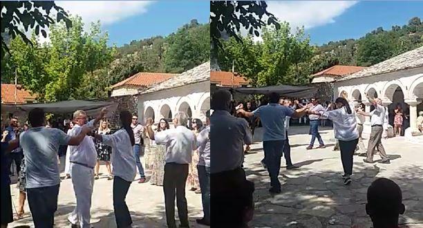 Festa në Labovën e Kryqit, ministrja e Kulturës, zv.ministrja e Jashtme dhe deputeti ia marrin valles pogonishte (VIDEO)