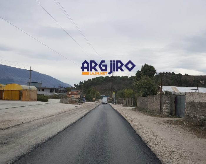 Merr formë rruga e re Gjirokastër-Lazarat, nis shtrimi me asfalt (FOTO)