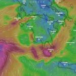 Greqia në alarm nga cikloni 'Zorba'. Ja çfarë do të ndodhë nesër