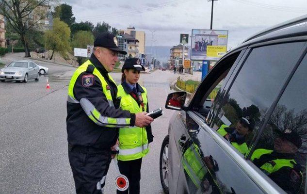 Gjirokastër, policia 'bën namin' me gjoba, 192 të ndëshkuar brenda një jave