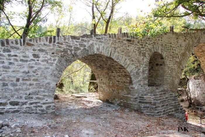 Libohovë, restaurohet Ura e Nivanit në Zagori (FOTO)
