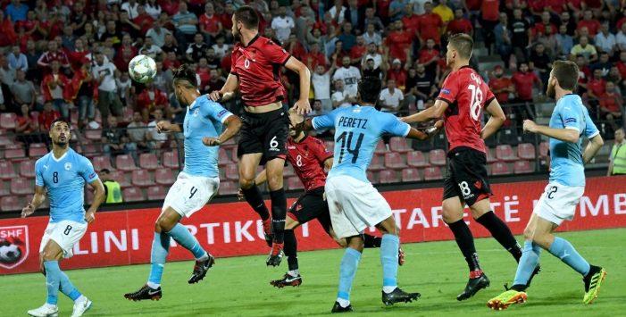 Shqipëria e Panuccit harron të fitojë, mundet 2 me 0 nga Izraeli