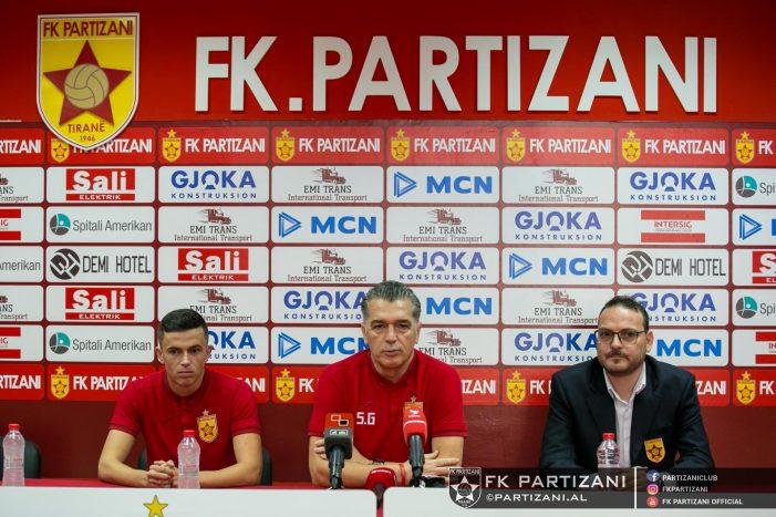 Sot sfida në Tiranë, trajneri i Partizanit 'thumbon' gjirokastritët