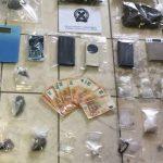 Shqiptari dhe çifti grek arrestohen me kokainë e kanabis në bodrum