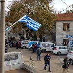 VIDEO/ Nisin tensionet e para në Bularat, ekstremistët nuk lejojnë mediat shqiptare: Largohuni prej këtu!