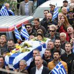 Bularati në 40 FOTO, funerali i Kacifas si manifestim antishqiptar