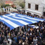 Funerali i Kacifasit dhe 'funerali' i shtetit shqiptar sot në Dropull. Ja dy veprat penale që kryen ekstremistët grekë