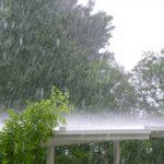 Moti sot, shira të dendur me rrufe dhe stuhi