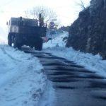 Emergjenca nga dëbora në Gjirokastër, ja rrugët që vijojnë të jenë të bllokuara