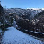 Dëborë në Gjirokastër, Sarandë e Delvinë