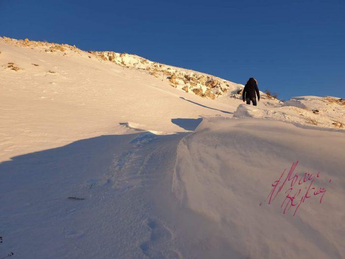 Magjia e dëborës, shihni çfarë ndodh në majën e Sopotit (FOTO)