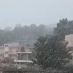 Dëborë edhe në Sarandë