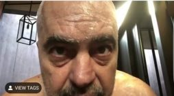 Del video e Edi Ramës në dush
